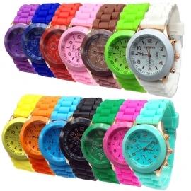 Женские часы Geneva (14 цветов)