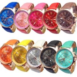 Женские часы Geneva (10 цветов) ремне и.к.