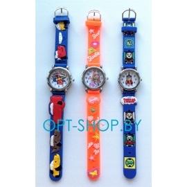Часы детские на резиновом ремне,K-SR01