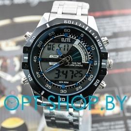Часы водонепроницаемые, металлизированные,Quamer,Weide,SWT-02