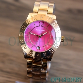 Женские часы P@ndor@ с календарем на браслете